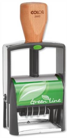 Green Line CLASSIC 2660 datownik cyfrowy COLOP (37x58mm)
